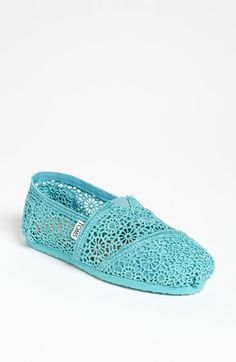 TOMS 'Classic' Crochet Slip-On (Women) available at #Nordstrom