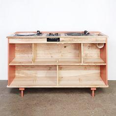 Un meuble hifi design sur-mesure, Atelier sauvage