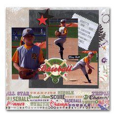 Have lots of baseball photos to scrap