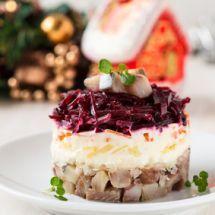 Ma recette du jour : Salade hareng russe sur Recettes.net