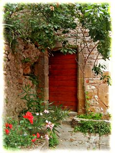 """ I am the door "" ~ John 9 : 10"