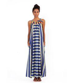 Silk dress - via DTLL.
