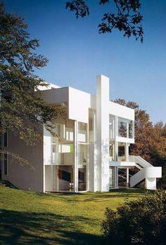 Smith House, Darien, Connecticut, USA by Richard Meier Architect :: 1965-67