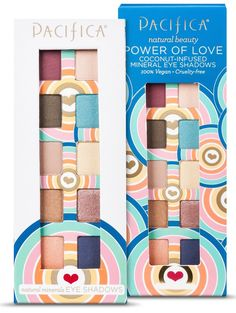 Christine springs into the season with Pacifica Beauty and the new Power of Love eyeshadow palette.