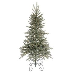 "Vickerman Blue Jersey Frasier Fir 84"" Artificial Christmas Tree with Clear Lights #Wayfair"