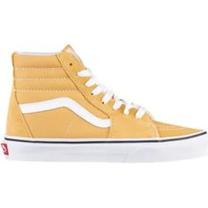 63896bcc4 Vans Sk8-Hi - Boys Grade School Shoes - Ochre True White - VN0A38GEQA0.  Elena Rosas