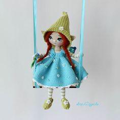 Эрианэ,малышка  из страны вечной весны! ⛅  Из маленькой,  эльфийской деревушки, затерявшейся , в лугах . - - - - - - - - - - - - - - #эльф #кукларучнойработы #amigurumidoll #amigurumi #handmadedolls #игрушкакрючком #амигурумикукла #кукла #ручная_работа #artdoll #Алёна_handmade #вязание_крючком  #гномы #amigurumitoy #artdoll #collectiondoll #куколка #интерьернаякукла #doll #dolls #crochettoys #авторскаяработа #авторскакукла #фентези  #fantasy #эльфысуществуют #фея #сказка...