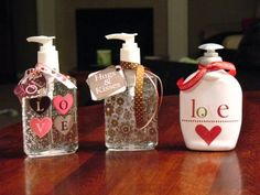 Always looking for fun teacher gifts AND hand sanitizer is always needed!  I have a Christmas one for my desk.  It would be fun to do a different bottle for each holiday.  Since my kiddos have all girl teachers again, this might be what I do this year :)