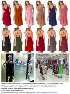 ce52aa261f79 Eliacher Women s Deep V Neck Adjustable Spaghetti Straps Summer Dress  Sleeveless Sexy Backless Party Dresses With