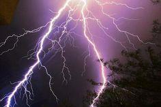 Lightening over Sabino Canyon during Monsoon 2011