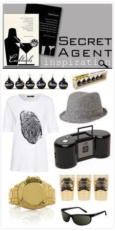 Secret Agent Inspiration