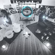 """645 Likes, 10 Comments - ☽ Danielle ℕoel ☾ (@starchildtarot) on Instagram: """"Two nights ago I had the pleasure of experiencing a sound bath session from my darling siSTAR…"""""""