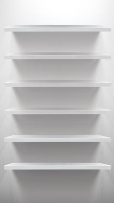 ↑↑TAP AND GET THE FREE APP! Shelves Simple White Shadows Minimalistic Unicolor Clear HD iPhone 6 plus Wallpaper