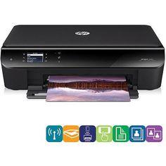 HP Envy 4500 Wireless All-In-One Color Photo Printer, Copier, Scanner - Black - Certified Refurbished Wifi Printer, Wireless Printer, Printer Driver, Printer Scanner, Inkjet Printer, Color Photo Printer, Multifunction Printer, Samsung, Schneider