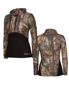 Realtree women's Activewear 2017  - The Canopy Cowl Neck is ideal for the classic Realtree gal. This body-shaping style featuring the Realtree Xtra print. Easily wear it alone or as a layering piece, and tighten the cowl for added warmth.