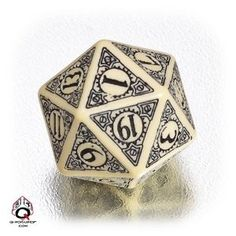 Oh yes, I needed a new d20 and it's #steampunk