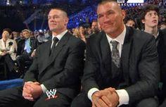Real life best friends, Randy Orton & John Cena!