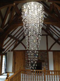 Crystal Stairwell Light 018