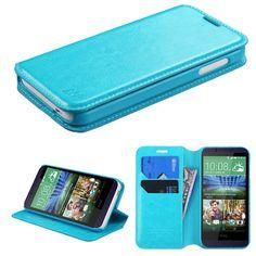MYBAT HTC Desire 510 Case Flip Stand Leather Wallet - Blue. Bőr PénztárcaKék TálcaTelefonTermékek f958c8f783