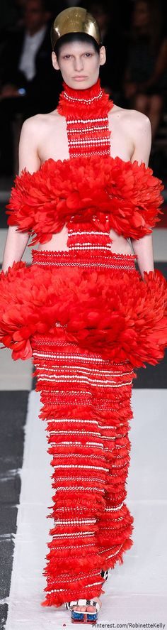 Alexander McQueen | S/S 2014 | The House of Beccaria~