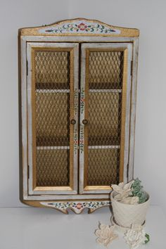 Decorative Wall Cabinet vintage indian architectural wood carvings,pair | decorative wall
