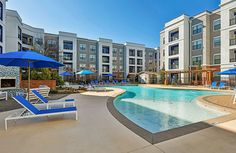 View photos of our apartments in north Atlanta nestled in the Brookhaven neighborhood offering an impressive pool, covered parking, BBQ area and more. North Atlanta, Atlanta Georgia, Bbq Area, Luxury Apartments, Pitbull Terrier, View Photos, The Neighbourhood, Tours, Park