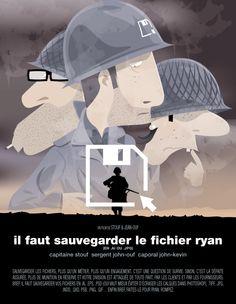 Stouf et Jean-Ouf : le cinéma revisité par des graphistes | http://blog.shanegraphique.com/les-parodies-de-graphiste-de-stouf-jeanouf/