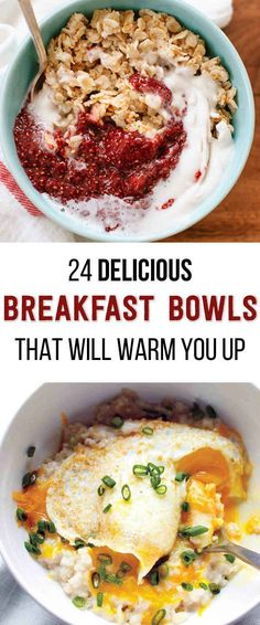 24 Delicious Breakfast Bowl Recipes That Will Warm You Up!