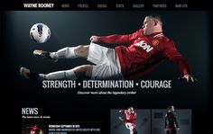 Lightmaker have relaunched a fresh and revamped website to serve as a media hub for Rooney's fan base with many new features.