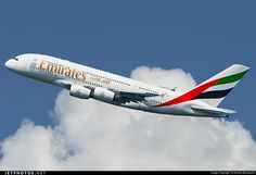 Photo of A6-EDX Airbus A380-861 by Andrea Buzzacchi