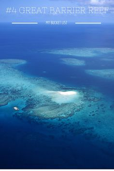 Bucket List: Great Barrier Reef