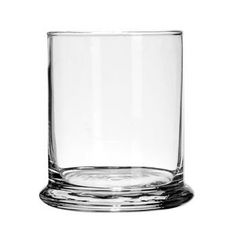 Rocks Glass Candleholder, 4""