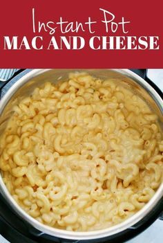 Pressure cooker recipes 59883870032913218 - Instant Pot Mac and Cheese Recipe – the easiest way to make creamy and cheesy macaroni! Made with 5 ingredients right in your pressure cooker! Source by CrunchyCreamySw Sweet Cheese Recipe, Instant Pot Mac And Cheese Recipe, Instant Pot Dinner Recipes, Cheese Recipes, Pasta Recipes, Crockpot Recipes, Best Pressure Cooker, Instant Pot Pressure Cooker, Pressure Cooker Recipes