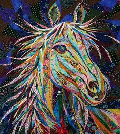 Amazing Horse Applique