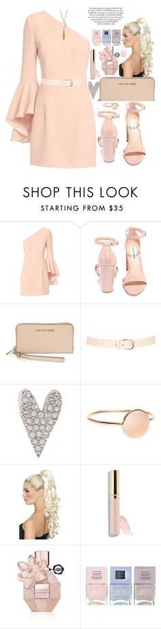 """""""nice"""" by amila-lugavic ❤ liked on Polyvore featuring Exclusive for Intermix, Steve Madden, Michael Kors, Maison Boinet, Sonia Rykiel, Beautycounter, Viktor & Rolf, Nails Inc. and River Island"""