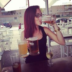 #hair #beer #sommer #happy