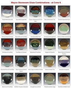 Image result for Pottery Glaze Combinations