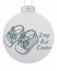 Newborn 1st Baby Girl Little Girls Xmas Decoration for New Parents Flower Bloom Baby Shower Ceramic 3 inch Flat Circle Porcelain Babys First Christmas Ornament 2018