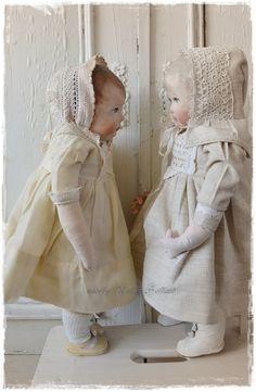 handgemaakte poppen van stof door Nelleke Hoffland