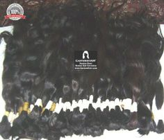 Russian Slavic Virgin Human Hair Bulk Raw Ponytails by EasternHair. $500.00. Russian Slavic Virgin Human Hair Ponytails 18-22inc long. Remy Cuticle in one direction Soft Huan Hair ponytails. Dark Color Natural Slightly Wavy Human Hair. Great Hair for Wigs and Hair Extensions. Geniune Russian Soft Virgin Hair. Russian Hair ponytails. Remy Hair Collected from Russian and Slavic people. Dark Colors. Off Black and Darkest brown colors. Mostly 18-22inc long hair ponytails. No c...