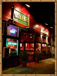 Hulas Monterey ... looks waaay silly, reasonable prices, nice gluten-free menu section, festive and NOT Bubba Gump's!