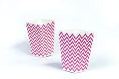 moushii Mini Popcorn Box Pink Chevron  www.moushii.com