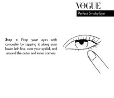 Step 1 to perfect smoky eyes