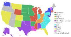 El nombre de 8 estados norteamericanos tiene origen #español. California, Colorado, Florida... ;) http://www.labrujulaverde.com/2014/01/el-origen-espanol-del-nombre-de-ocho-estados-norteamericanos