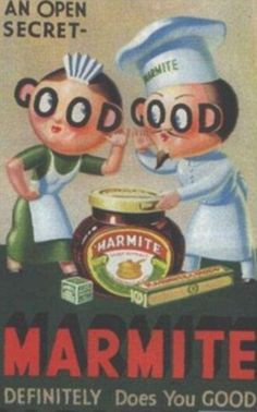 Still loving or loathing it: Fifties favourite Marmite is still a popular food choice