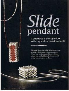 Схемы: Beads & Button- Right-Angle Weave. Часть 3