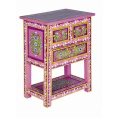 adorable hand painted cabinet from karma living on sale for 240 normally 375