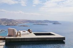 Tour a Jaw-Dropping Home in the Greek Isles via @MyDomaine