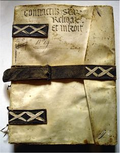 Italian Ledger bindings (13th to 17th c.)