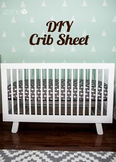 Crib Sheet DIY – You